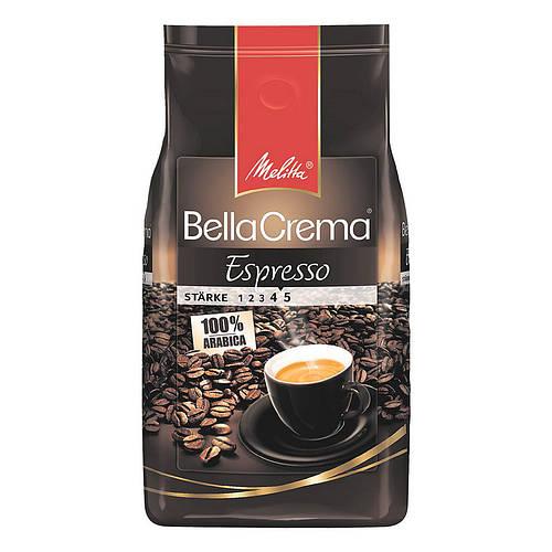 Кофе в зернах Melitta Bella Crema Espresso 1 кг кофе зерновой