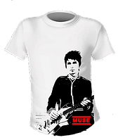 Футболка Muse Matthew Bellamy