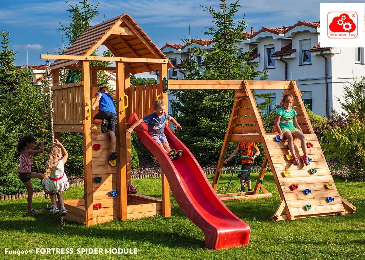Игровая площадка для детей Spider Fortress FunGoo 03518