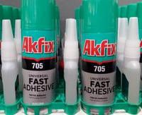 Клей с активатором Akfix 705 200+50г