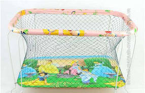 Детский игровой манеж Kinder Box Харьков крупная сетка