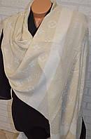 Шарф палантин Louis Vuitton (Луи Витон) бежевый