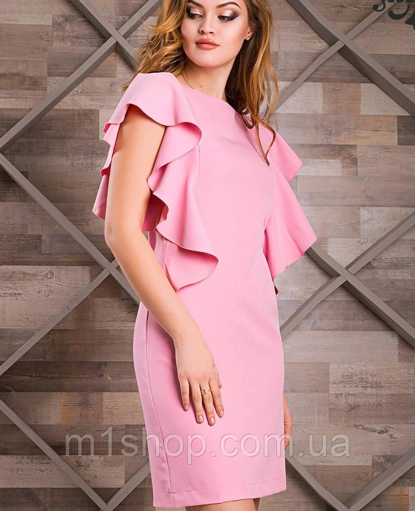 Платье с рукавами воланами | Дороти lzn