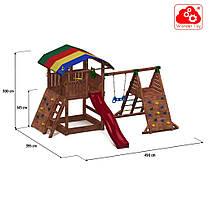 Детский игровой комплекс из дерева Up And Down Ship FunGoo 03516, фото 2