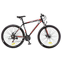 "Велосипед 29"" Optimabikes MOTION AM 14G DD Al черно-красно-белый (м) , фото 1"