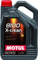 Олива моторна Motul 8100 X-clean 5w-30 5л