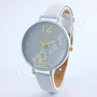 Женские кварцевые часы Geneva Platinum White