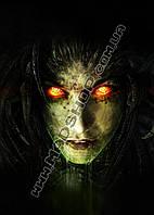 Картина 40х60 см Старкрафт Ведьма Керриган