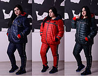 Костюм, куртка и комбинированные штаны Philipp Plein (реплика) БАТ 1577 (198)
