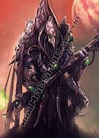 Картина 40х60 см Старкрафт Старец