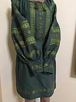 Сукня-туніка нарядна вишита хрестиком (машинна робота)