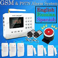 Охранная сигнализация PSTN GSM System