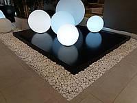 Мраморная галька белая Румыния грунт для аквариумов, для сада и декора, для фасада