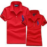 В стиле Ральф поло 100% хлопок женская мужская футболка поло, фото 7