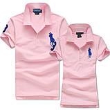 В стиле Ральф поло 100% хлопок женская мужская футболка поло, фото 8