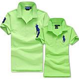 У стилі Ральф поло 100% бавовна жіноча чоловіча футболка поло оригінал, фото 2