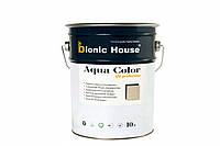 Акриловая лазурь - антисептик для дерева Aqua Color, 10л