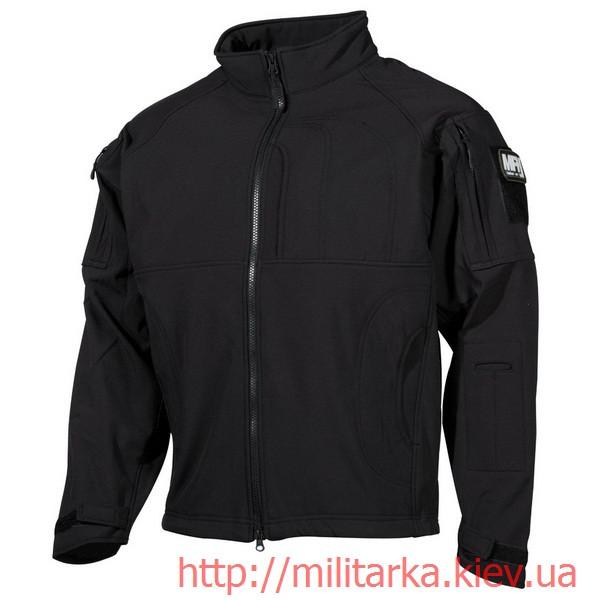 Куртка софтшелл MFH чёрная