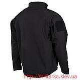 Куртка софтшелл MFH чёрная, фото 2