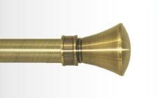 Декоративный наконечник Люксор для кованого карниза 19 мм.