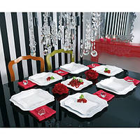 Столовый сервиз на 19 предметов Luminarc Authentic White