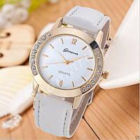 Женские часы Geneva diamond White