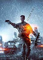 Картина 40х60 см Бателфилд Пистолет