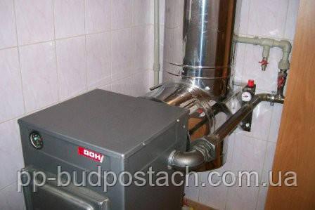 Системы отопления деревянных домов твердотопливными котлами, монтаж и выбор котла