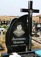 Памятник одинарный с крестом