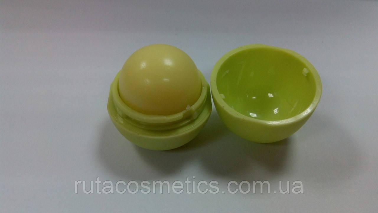 Бальзам для губ в виде шарика  (лимон)