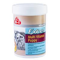 Мультивитамины для щенков. 100табл, Европа 8в1