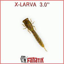 """Силикон Fanatik X-Larva 3"""" (6шт)"""