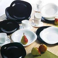 Столовый сервиз на 30 предметов Luminarc Carine Black White