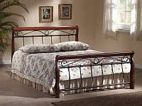 Кровать Venecja 140*200 античная вишня (Signal TM)