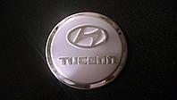 Хром накладка на Лючок бензобака Hyundai Tucson с 2003