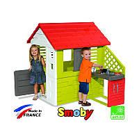 Игровой домик с кухней Smoby 810702 «Maison Nature»