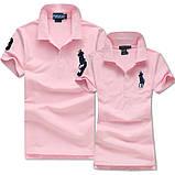 В стиле Ральф поло Мужские и Женские футболки 100% хлопок ралф, фото 4