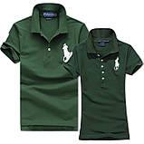 В стиле Ральф поло Мужские и Женские футболки 100% хлопок ралф, фото 5