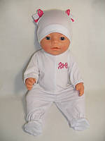 Белый человечек для куклы Baby Born