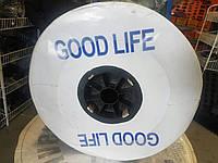 Капельная лента, капельный полив эмитерный  GOOD LIFE ( ГУД ЛАЙФ ) 2500\6мм\20см Корея