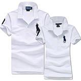 В стиле Ральф поло Мужские и Женские футболки 100% хлопок ралф, фото 7