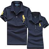 В стиле Ральф поло Мужские и Женские футболки 100% хлопок ралф, фото 8