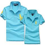 В стиле Ральф поло Мужские и Женские футболки 100% хлопок ралф, фото 10