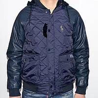 Модная мужская куртка с капюшоном