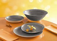 Столовый сервиз на 19 предметов Luminarc Stonemania Grey