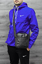 Куртка анорак Nike President синяя топ реплика, фото 2