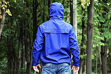 Куртка анорак Nike President синяя топ реплика, фото 3