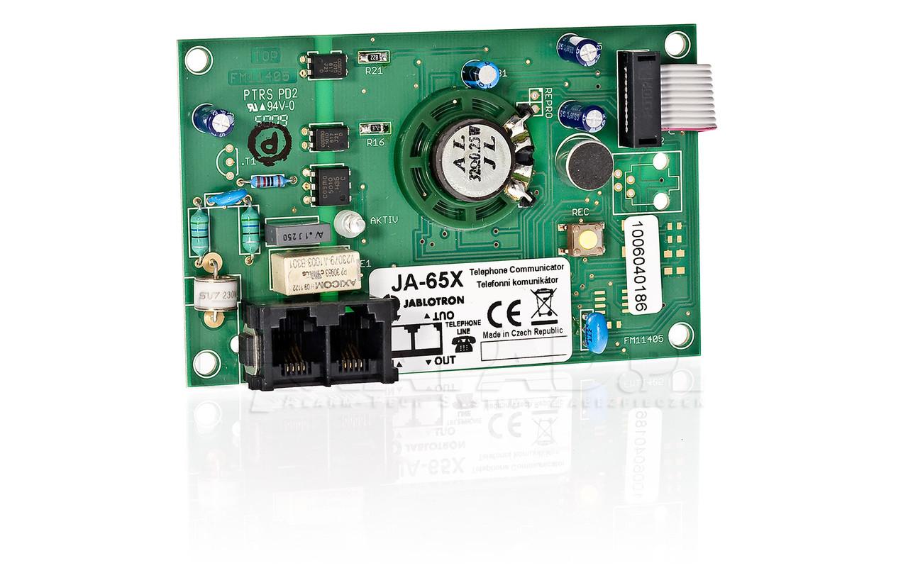 JA-65X телефонный коммуникатор и голосовой диаллер