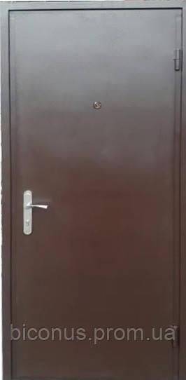 """Двери входные металлические """" СОВА """" серия ЛИДЕР (850 х 2040) правая"""
