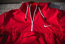 Мужской анорак Nike President красный топ реплика, фото 3
